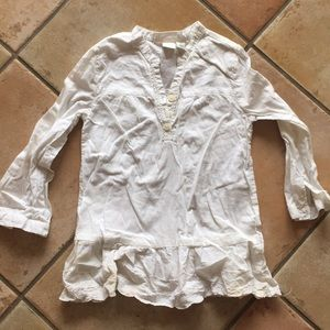 The children's place white tunic top